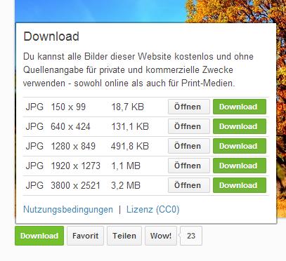 Download Bild von Pixabay