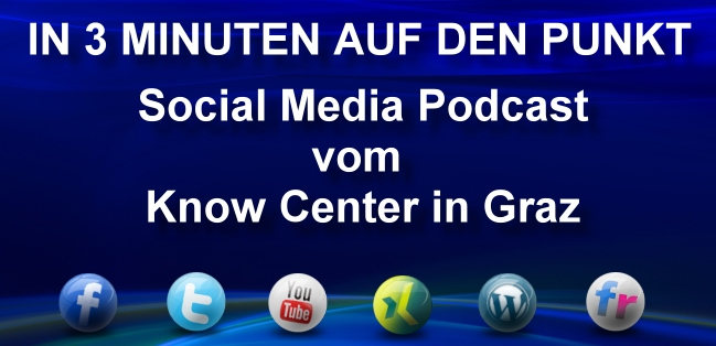 Social Media Podcast - Know Center - Graz
