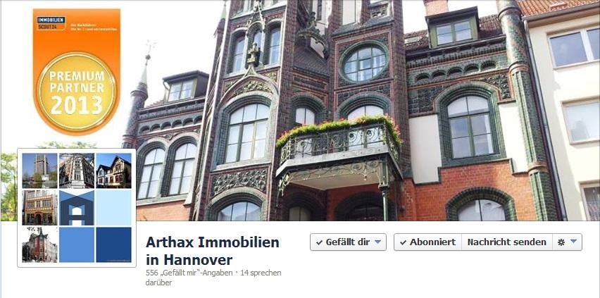 Arthax Immobilien auf Facebook