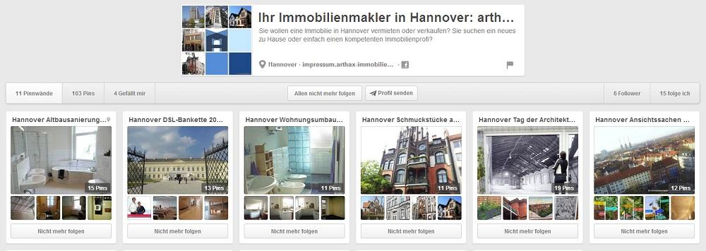 Arthax Immobilien auf Pinterest