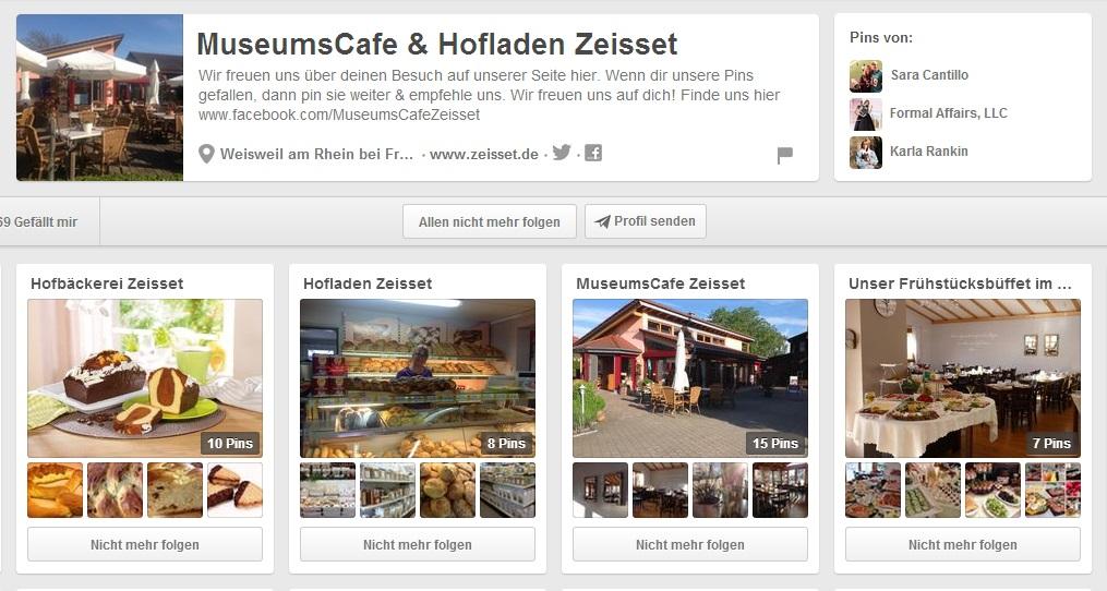 MuseumsCafe & Hofladen Zeisset auf Pinterest