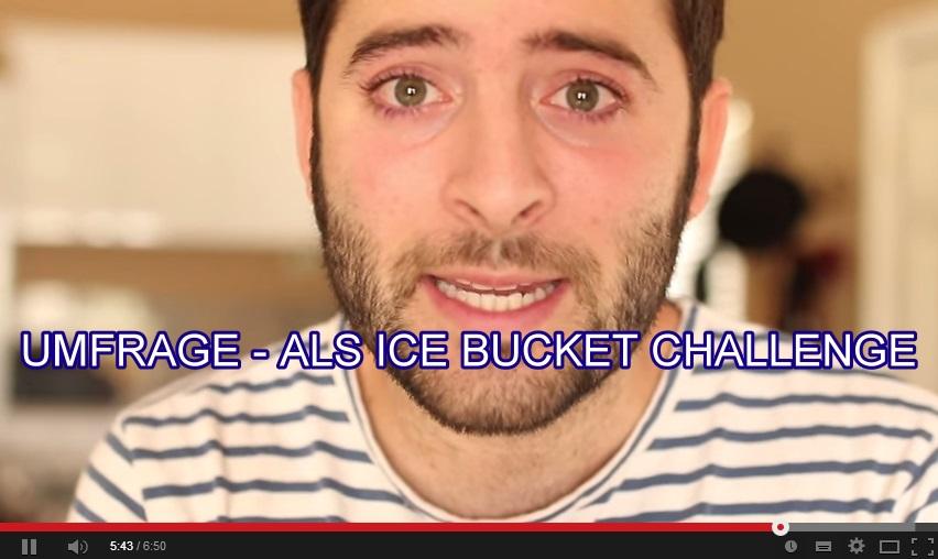Umfrage Als ice bucket challenge