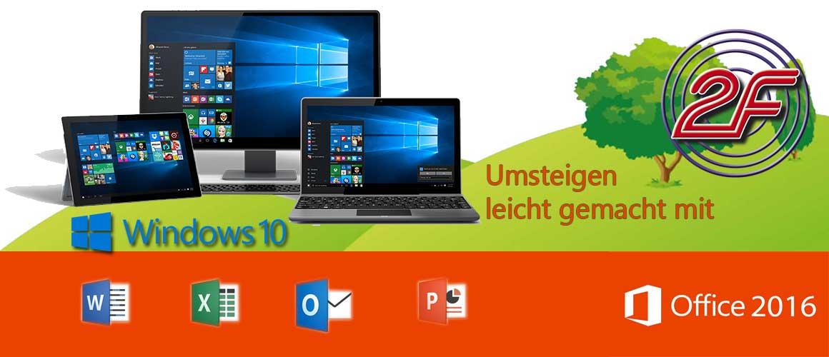 Vorschaubild: Umsteiger-Lehrgang Windows10 und Office 2016