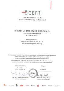 Oe-Cert-Zertifikat